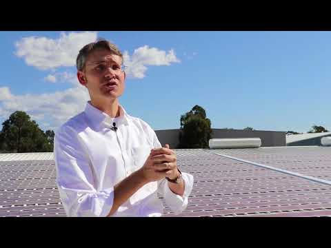 Printed solar project overview