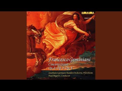 Concerto Grosso In E Minor, Op. 4 No. 3