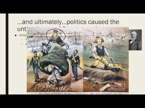 Reconstruction Era Review - U.S. History EOC