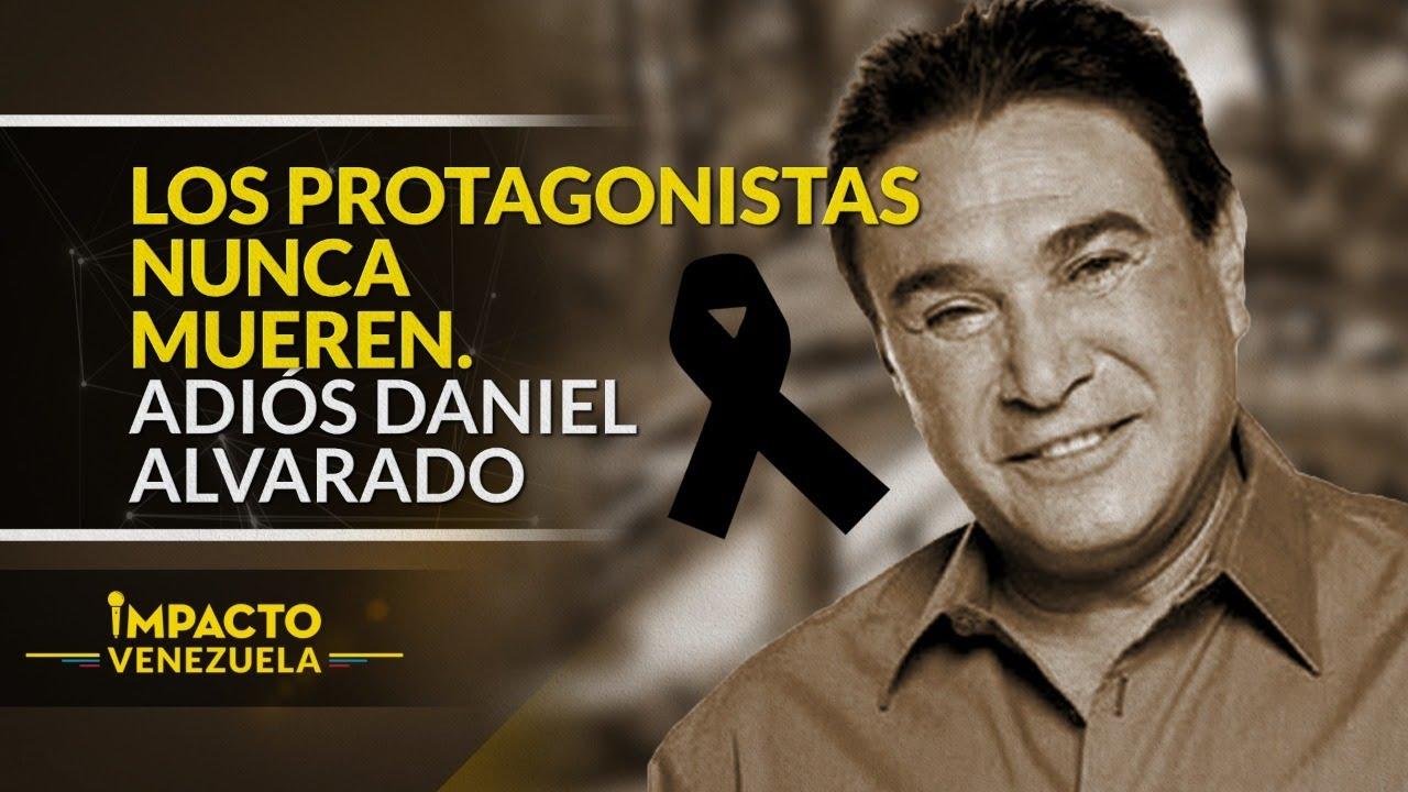 ¡TRISTE DESPEDIDA! Muere el negrito fullero Daniel Alvarado | Impacto Venezuela