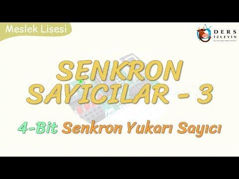 SENKRON SAYICILAR - 3 / 4 BİT SENKRON YUKARI SAYICI