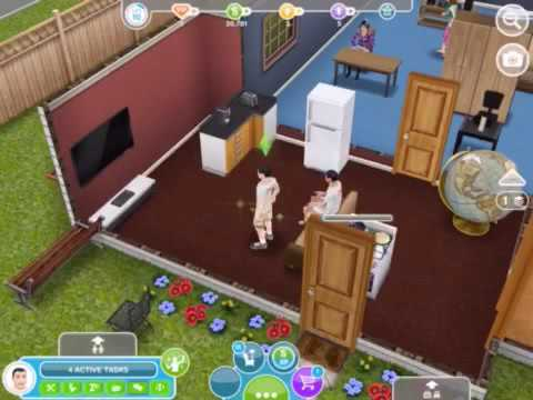 How to get married in sims freeplay - YouTube