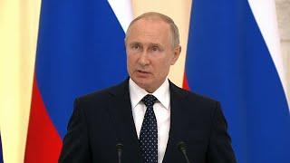 Пресс-конференция Владимира Путина от 16.06.21. Прямая трансляция