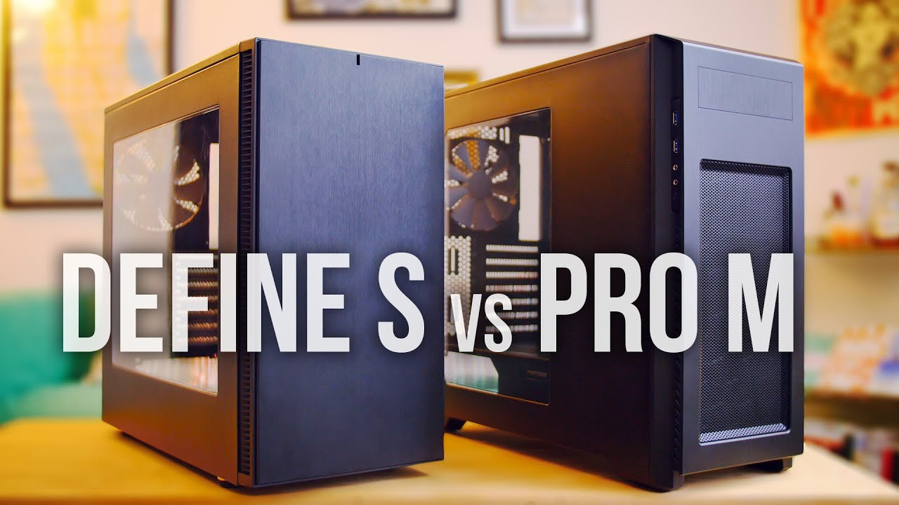 DEFINE S vs ENTHOO Pro M  Best Budget Case to buy  YouTube