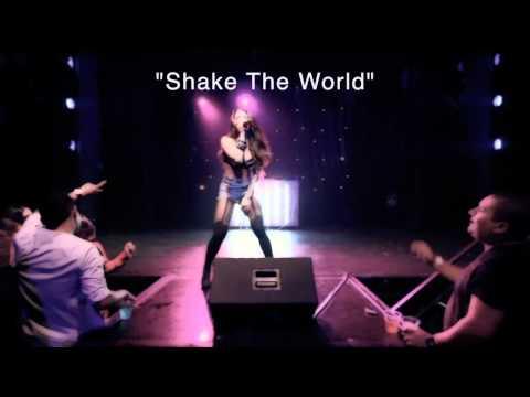 "Melissa Molinaro - ""Shake The World"" LIVE (choreography: Alex Larson)"