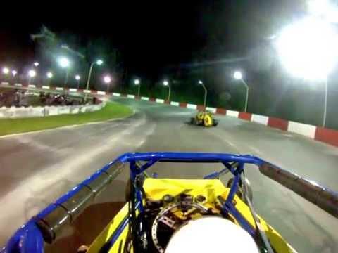 GoPro HD. Agassiz Speedway. Midget Main. #94 Goodwin. May 23, 2015.