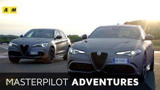 Alfa Romeo Quadrifoglio NRing | Con Stelvio nel suo regno, il Nurburgring