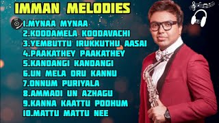 Imman melodies |Imman hits songs|Tamil Melody song |Isai Playlist