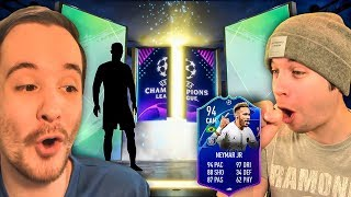 HUGE WALKOUT PACKED IN A 125K ULTIMATE PACK!!! - FIFA 19 ULTIMATE TEAM PACK OPENING