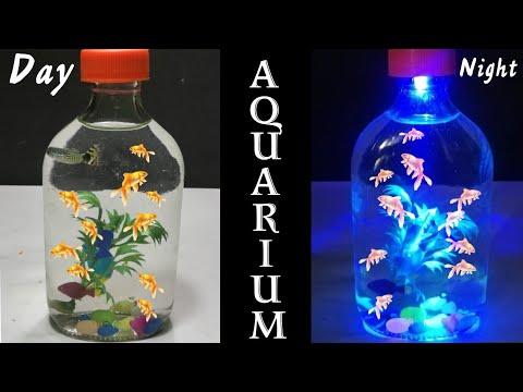 Aquarium From Bottle | How to make aquarium with bottle 360 DIY