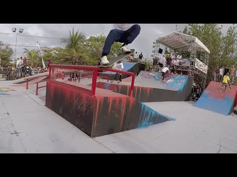 Skateboarding with the Khans - Pro Jam Bali 2018 (Rated PG13) Part 1 of 2