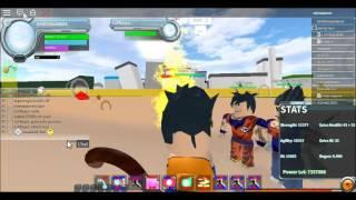 Roblox Dragon ball f a ep #1