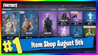 Boutique d'objets Fortnite 'NEW' RIO GRANDE SKIN SET! 5 août 2019 Fortnite Saison X