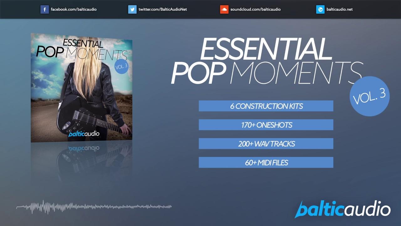 Essential Pop Moments Vol 3 (6 Construction Kits, 4+ GB of content, 170+ one shots, 200+ WAV tracks)