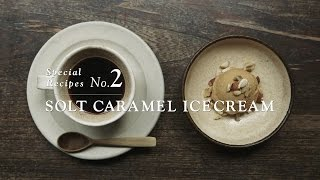 SWEETS RECIPES MADE WITH DOORS GROCERY 【SOLT CARAMEL ICECREAM】