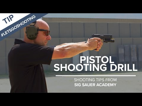 Pistol Shooting Drill to Improve Accuracy | Shooting Tips from SIG SAUER Academy