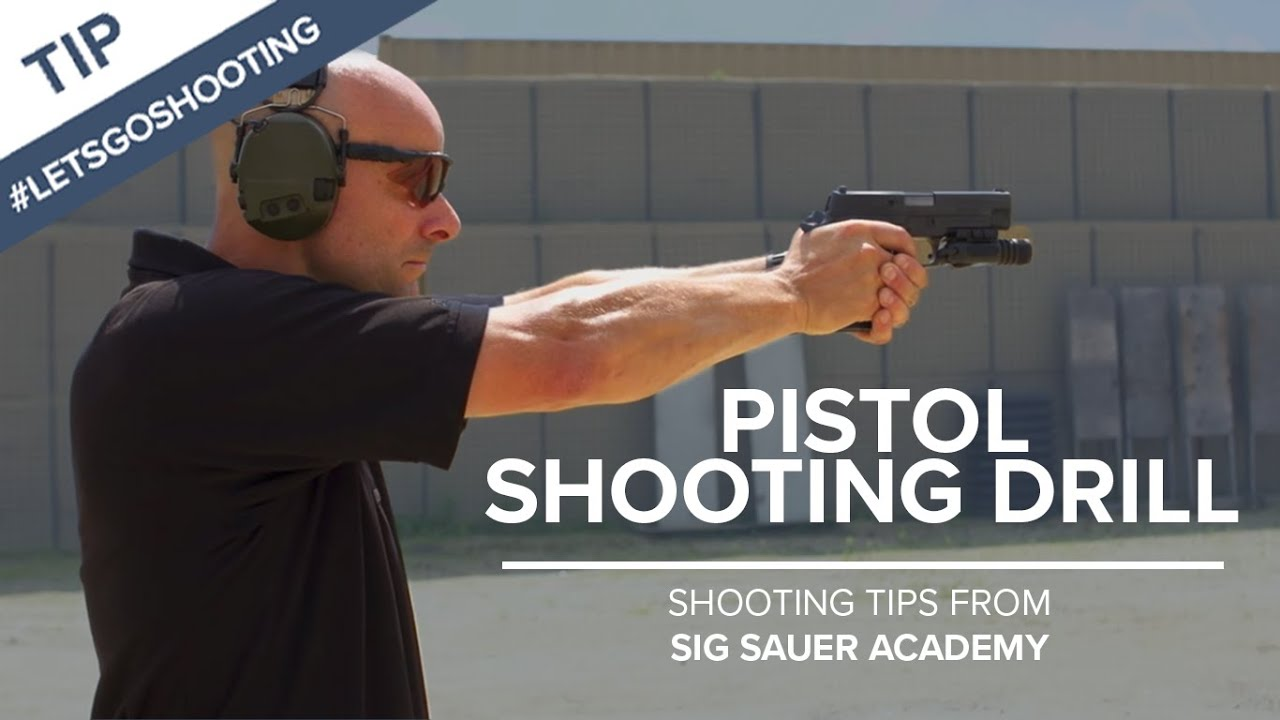 Pistol Shooting Drill to Improve Accuracy - Shooting Tips ...