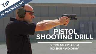 Pistol Shooting Drill to Improve Accuracy - Shooting Tips from SIG SAUER Academy