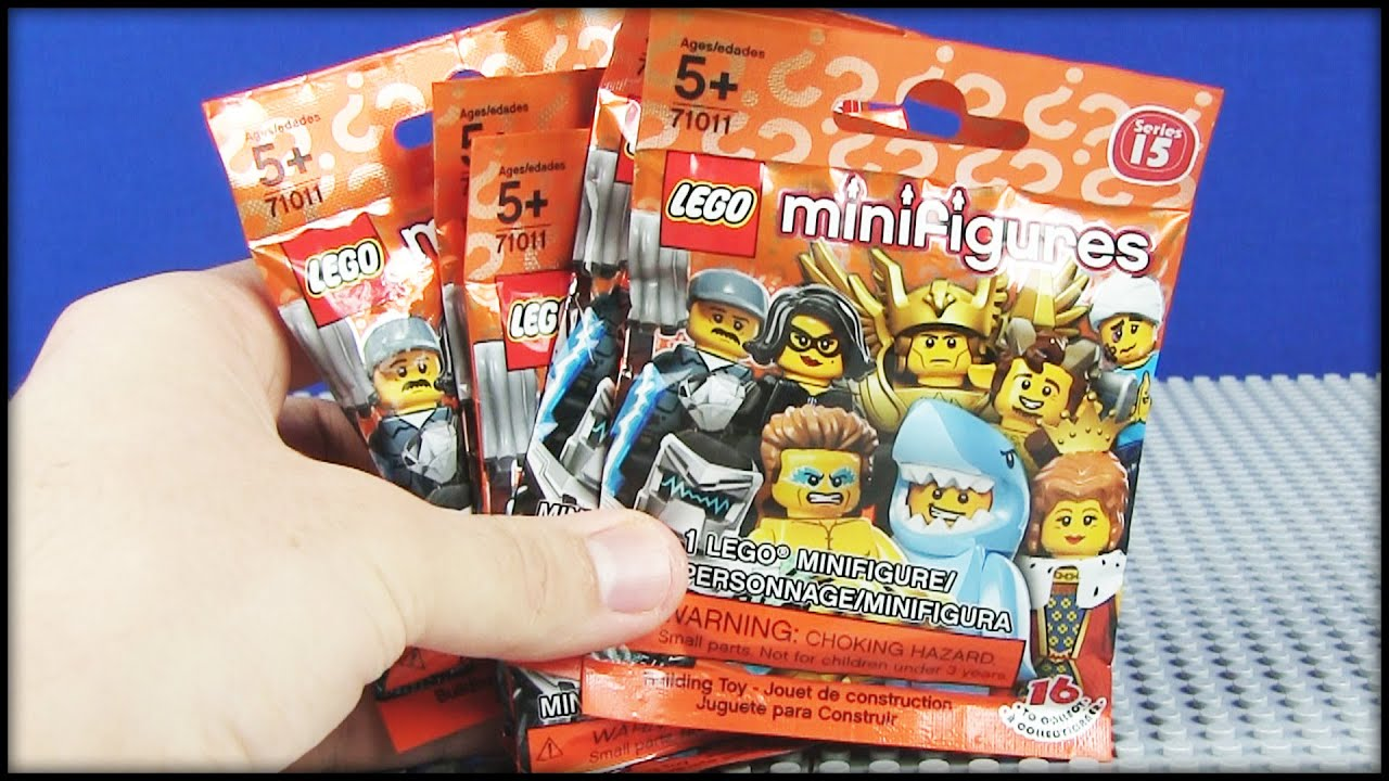New Lego Series 15 Minifigures Blind Bags Youtube