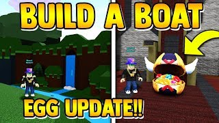 EGG UPDATE IS OUT!! (2 egg locations) | Build a boat for Treasure ROBLOX