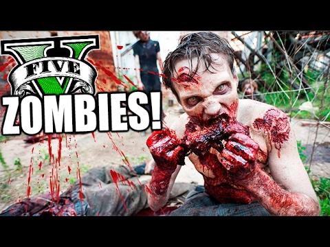 LA VERDAD DE TODO!! GTA V ZOMBIES APOCALIPSE #14 SERIE DE ZOMBIES GTA 5 MOD PC Makiman