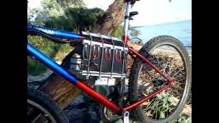 Электровелосипед - установка аккумуляторов на раму(добавил второе видео после 2х лет эксплуатации, ну и какой он на ходу http://www.youtube.com/watch?v=MoJ_njD9f5s., 2012-05-29T12:05:28.000Z)