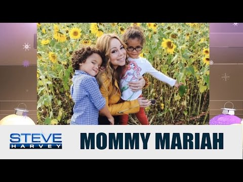 Mariah Carey: My kids changed my life || STEVE HARVEY