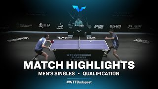 Sadi Ismailov vs Jeet Chandra | WTT Contender Budapest 2021 (Qual)