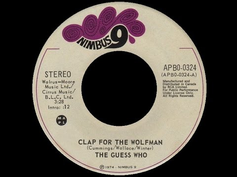 [1974] The Guess Who with Wolfman Jack • Clap...