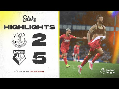 Joshua King HAT-TRICK & Seven-Goal THRILLER! 🎩🔥 | Extended Highlights | Everton 2-5 Watford