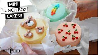 EASY Mini LUNCH BOX CAKES!!