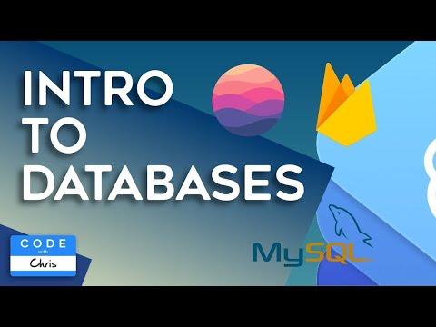 Intro To Databases (MySQL, CloudKit, Firebase, Core Data, Realm)