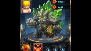 Clash of Lords 2 - Mr Kill You With A Tree Stump LANDSLIDE Max Enlightenment Level 25 Showcase