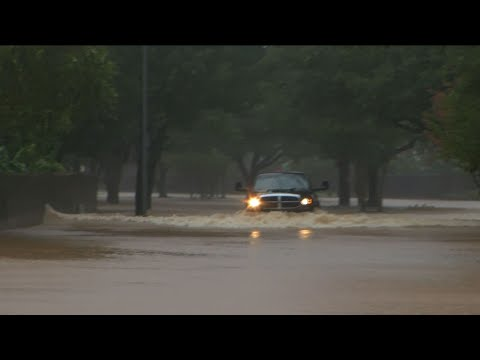 Water Rescues at Sugar Land As Flood Levels Rise
