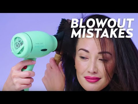 7 Blowout Mistakes You Make & Tips to Fix Them! | Beauty with Susan Yara