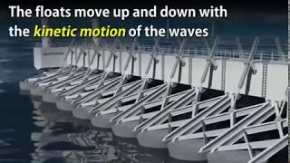 видео Морской волновой электрогенератор