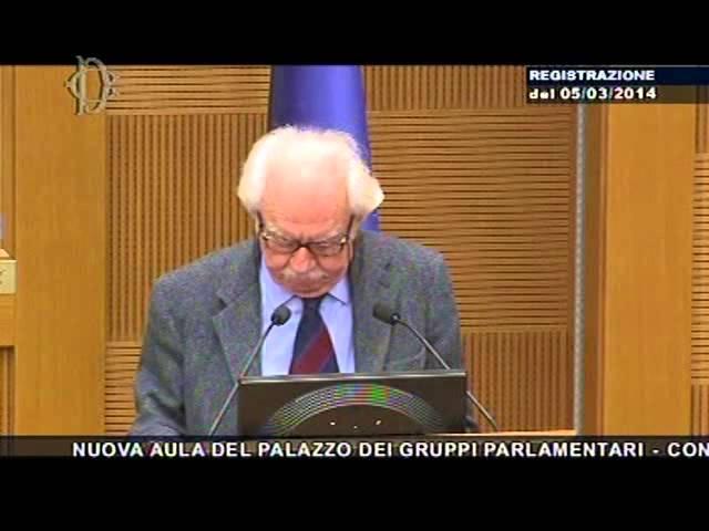 Costituzione e legge elettorale - Prof. Asor Rosa