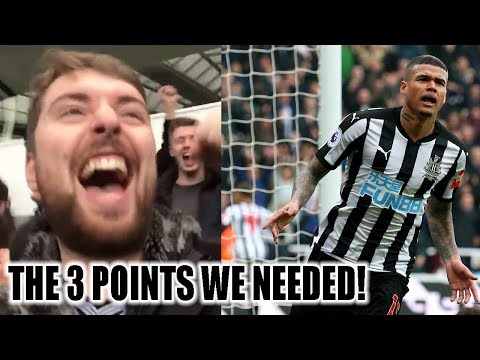 3 GOALS AND THE 3 POINTS WE NEEDED! NEWCASTLE VS SOUTHAMPTON VLOG! 3-0