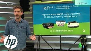 Imprime 6 Meses Gratis Y Recibe La Tinta En Casa Hp Youtube