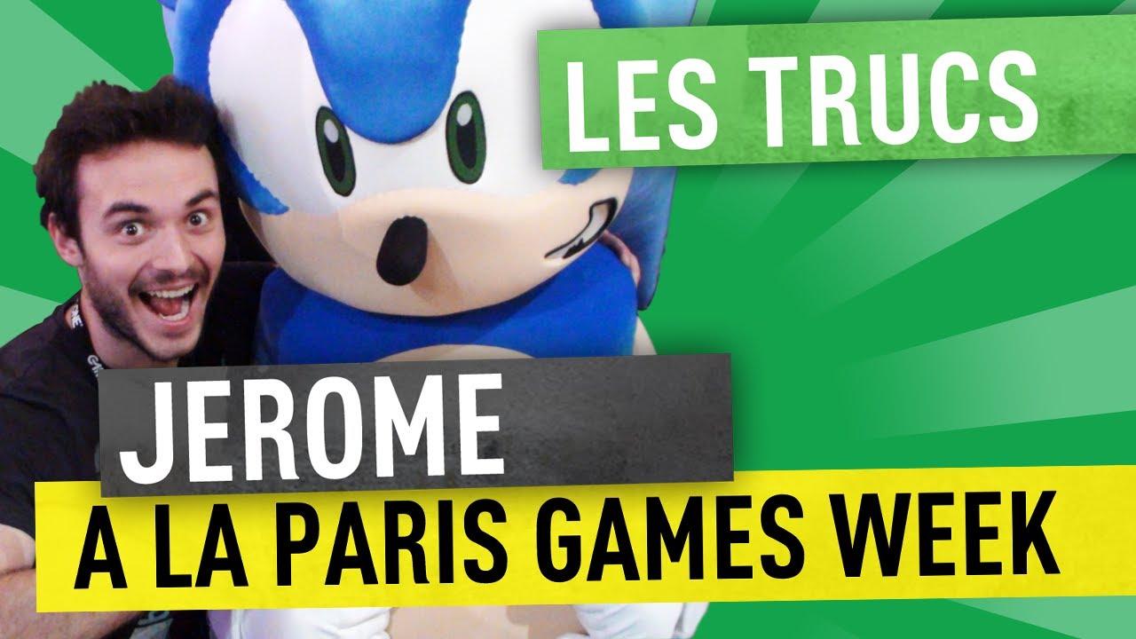 JEROME A LA PARIS GAMES WEEK