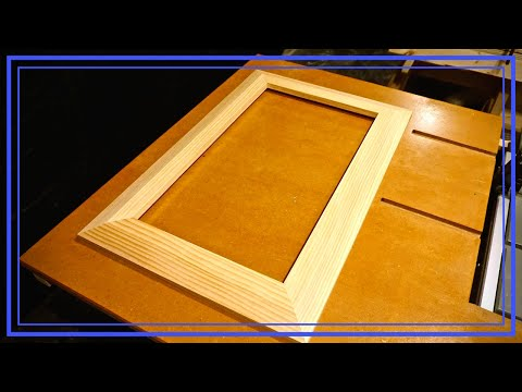 How to Build a 2x4 Picture Frame With a Beveled Edge