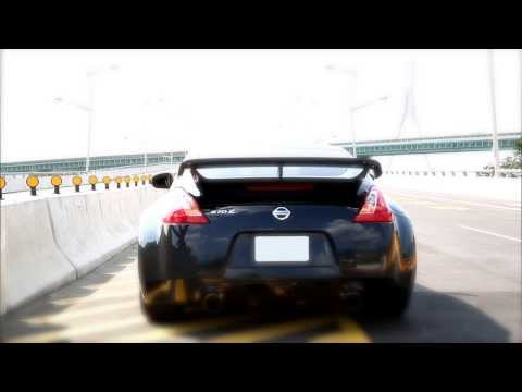 Nissan フェアレディZ 370Z (Z34) Fitted With Armytrix Super Sport Variable Exhaust, LOUD REVS!