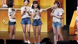 HKT48が7月12日、福岡サンパレスホールで行われた全国ツアー2日目のアン...