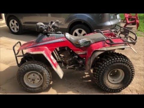 HONDA TRX250 FOURTRAX ATV FRONT GUARD PLATE 50353-HA8-680  TRX 250