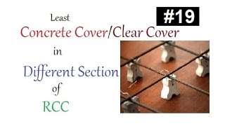 Minimum concrete cover or cleare cover provided in concrete slab,column,beam in Urdu/Hindi thumbnail