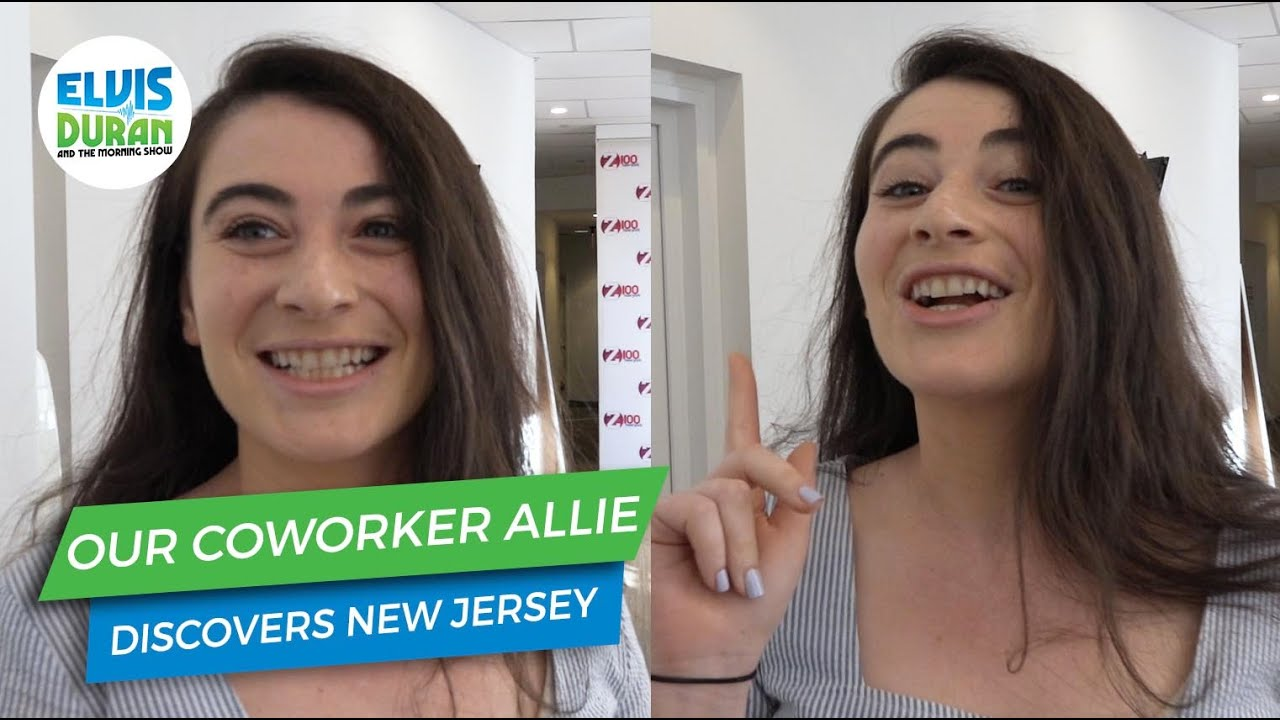 Our Co-Worker Allie Discovers New Jersey | Elvis Duran Exclusives