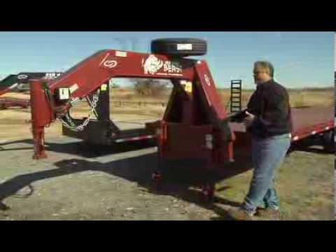 The BEAST Flatbed Trailer from GoBob Pipe and Steel
