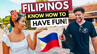 FILIPINOS KNOW how to HAVE FUN - Travel Vlog