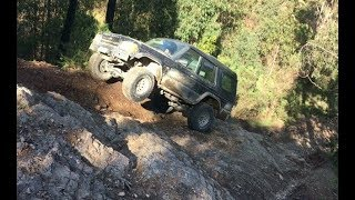 Jeep Wrangler vs Land Rover Discovery 2 vs Ford Ranger OffRoad | 4x4