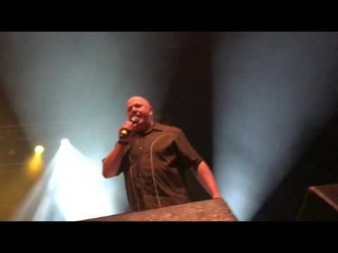 VNV NATION and forensic biologist Dr. Mark Benecke during the Dark Storm Festival